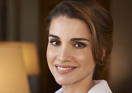 Rania is wife of king of Jordon so she is Queen Rania Al Abdullah